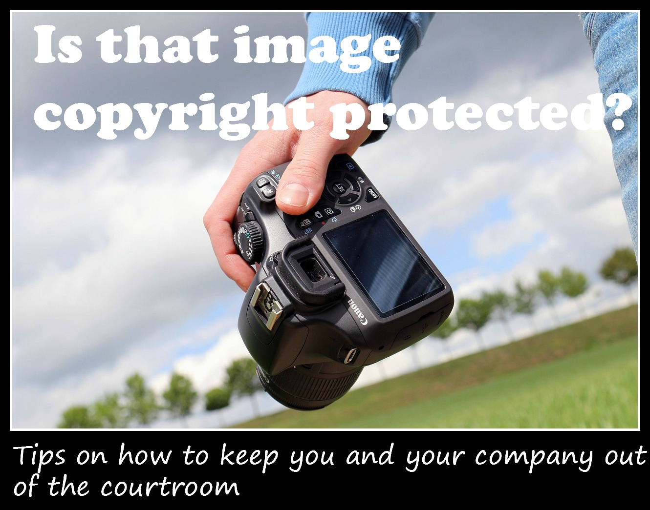 How to Keep From Being Sued Over Images For Your Site