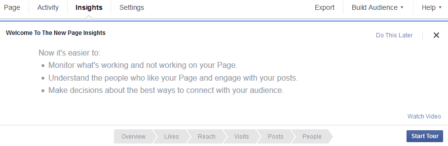 FB Activity for Marketing