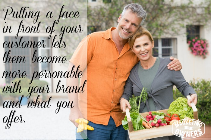 Portrait Of Happy Mature Couple With Vegetable
