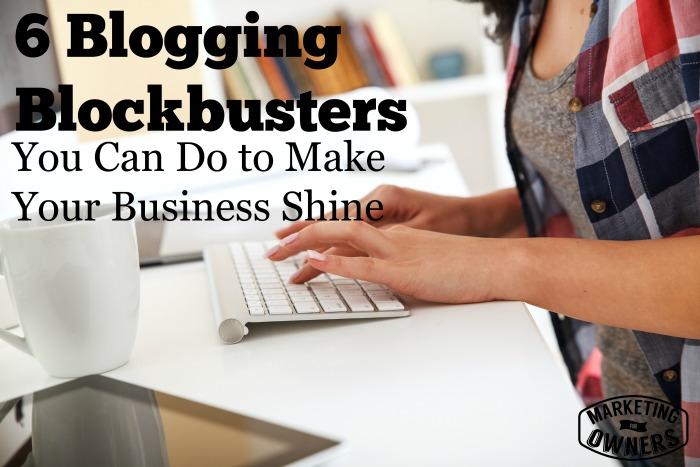 Blogging Blockbusters