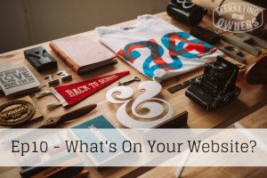 What's On Your Website? – 10