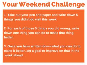 60 weekend challenge 3