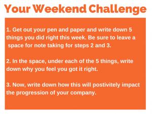 65 weekend challenge 3