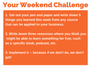 70 weekend challenge 3