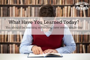 What Did You Learn Today? – 48