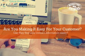 Are You Making It Easy For Your Customer – 50