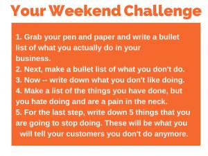 90 Weekend Challenge 5