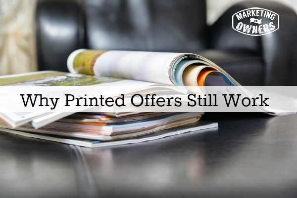 Why Printed Offers Still Work
