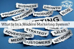 modern marketing system