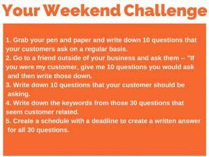 115 weekend challenge 5