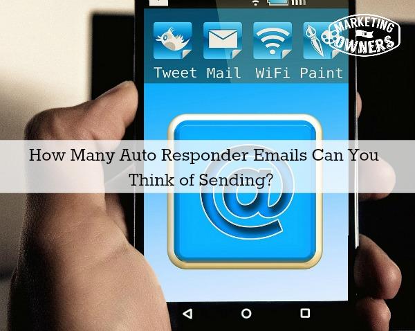 121 auto responder emails