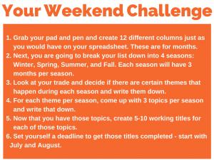 140 weekend challenge 6