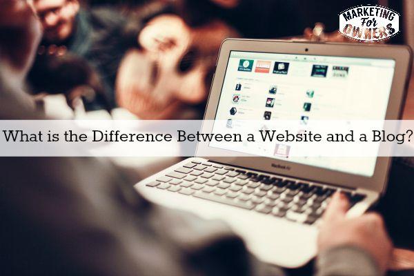 Computer website blog