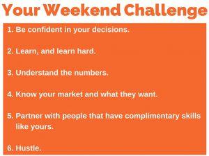 195 weekend challenge 6