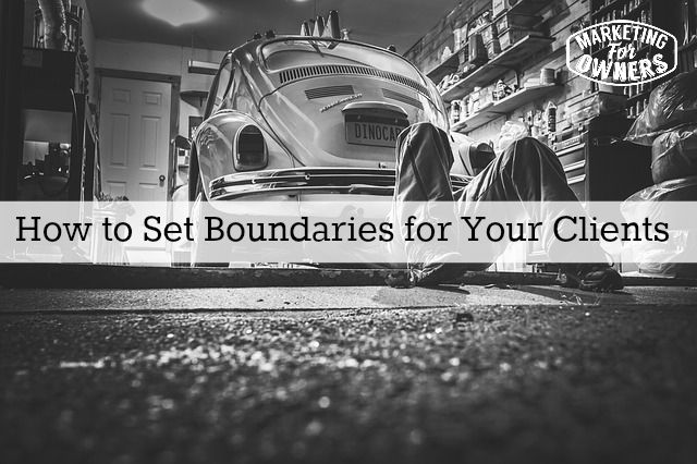 How to Set Boundaries for Your Clients