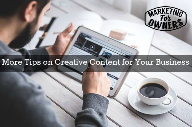 creative content for your business