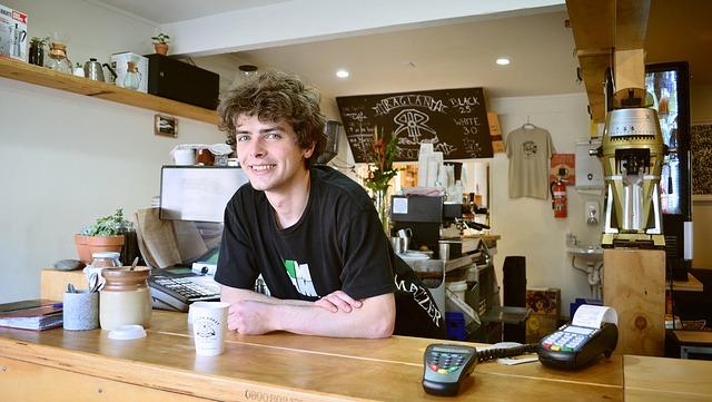 coffee house attendant
