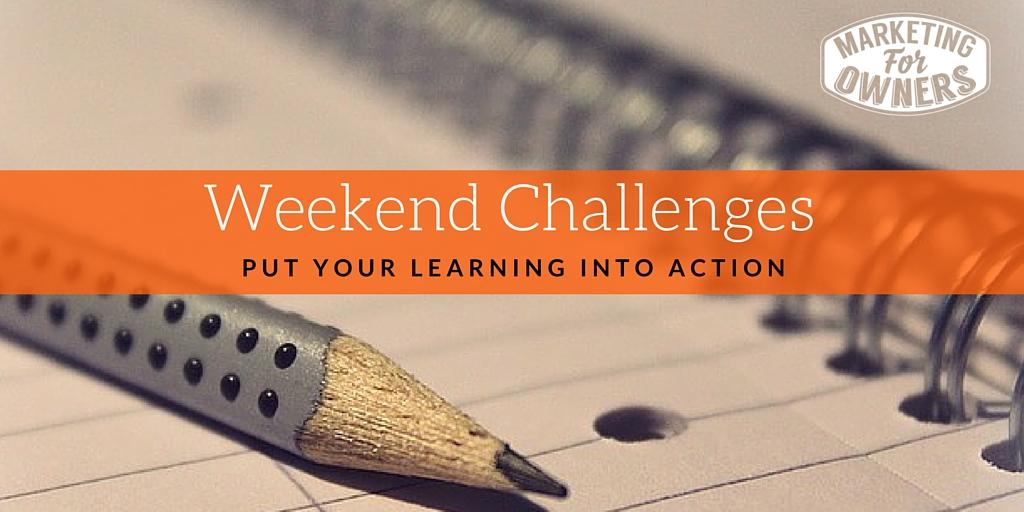 weekend challenge
