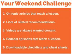 235 weekend challenge 5