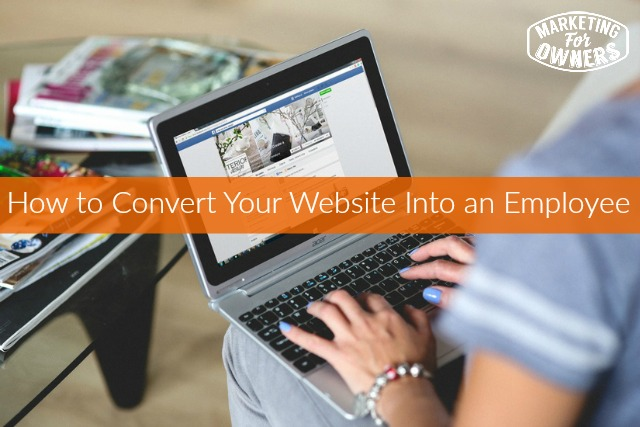 237 how to turn website into an employee
