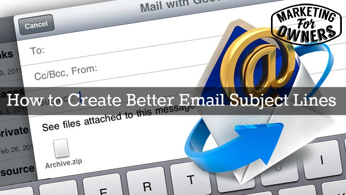how to write better email subject lines