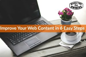Improve Your Web Content in 6 Easy Steps #255