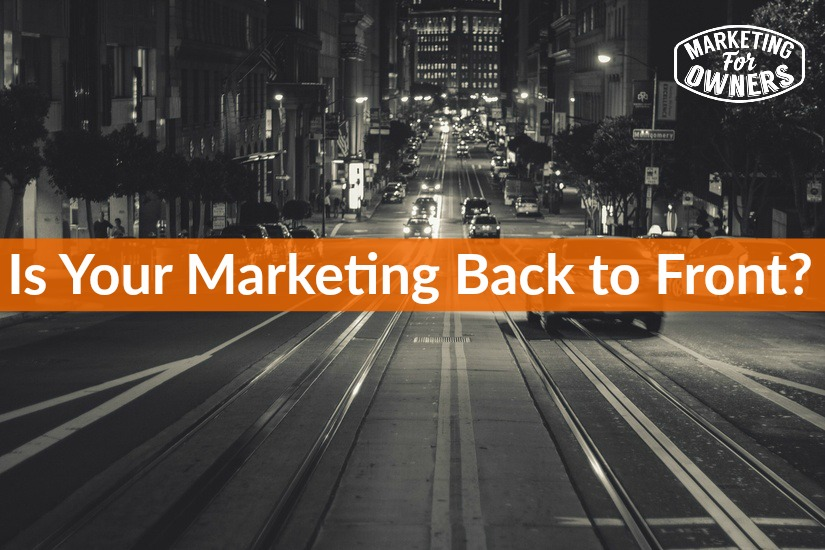 marketing back to front