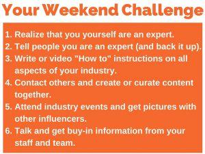 275 weekend challenge 6