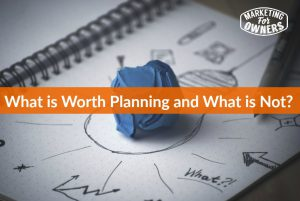 What is Worth Planning For 2016 #282