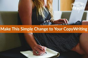 Make This Simple Change in Your Writing #264