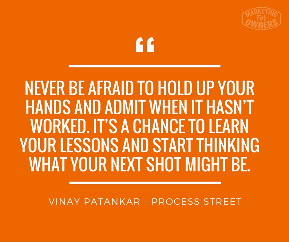 Vinay patankar quote