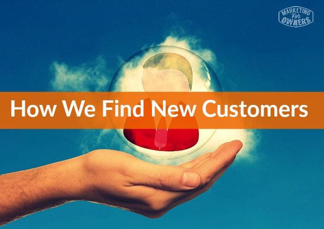 how we find new customers