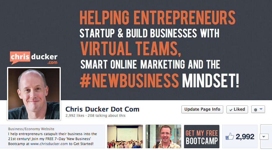 Chris Ducker Social Media