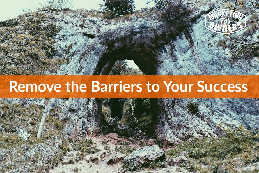 remove the barriers to your success