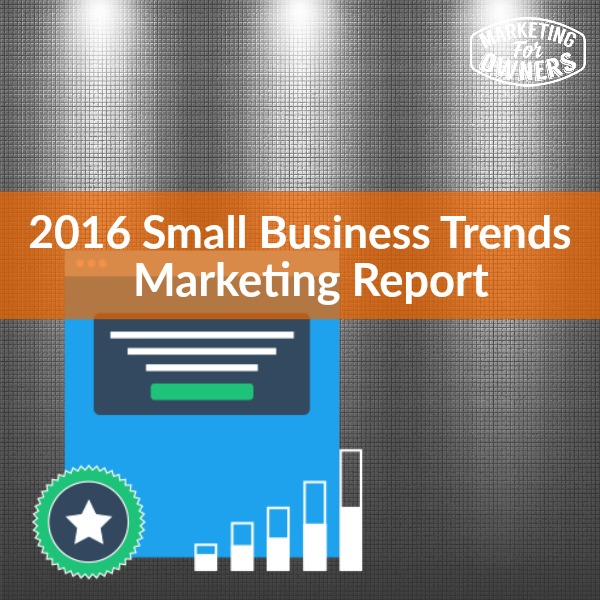 small business trends marketing report