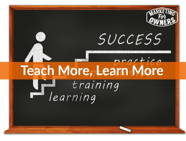 teach more learn more