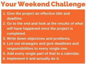350 weekend challenge 6