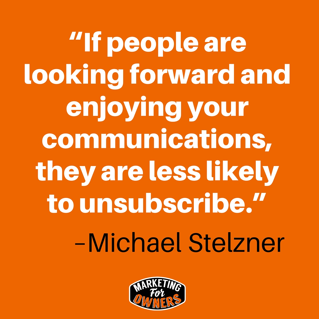 michael stelzner quote