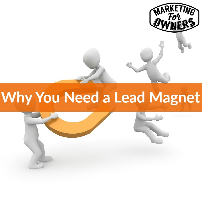 why you need a lead magnet