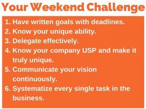 355 weekend challenge 6