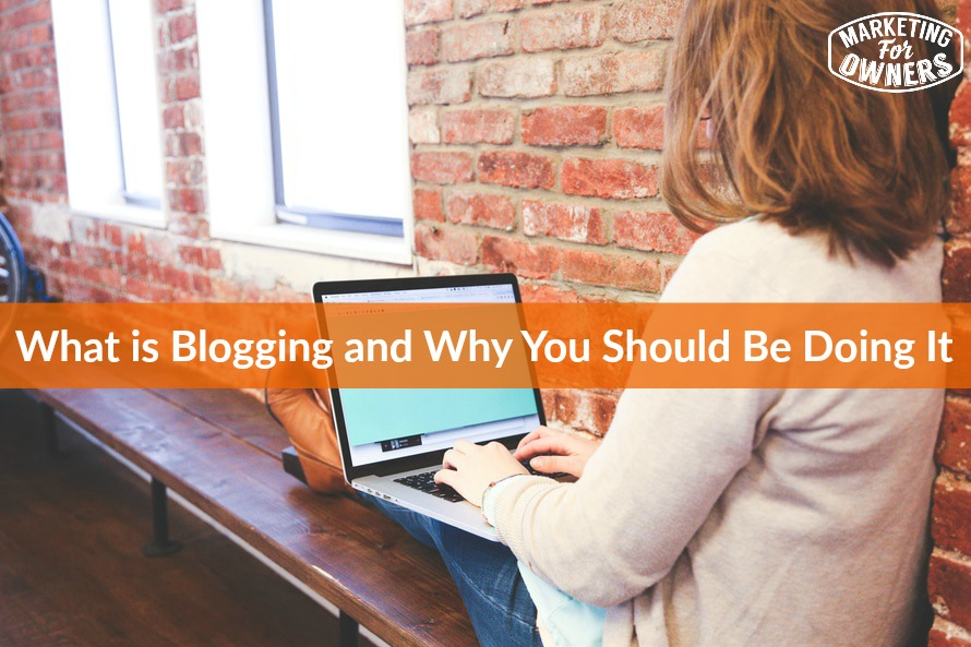 364 what is blogging