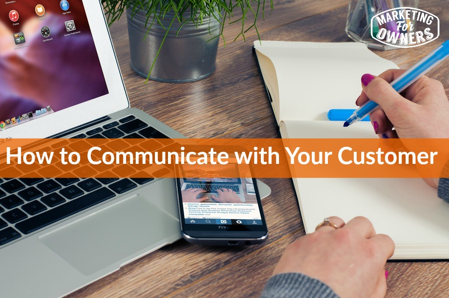 369 communicate with customer