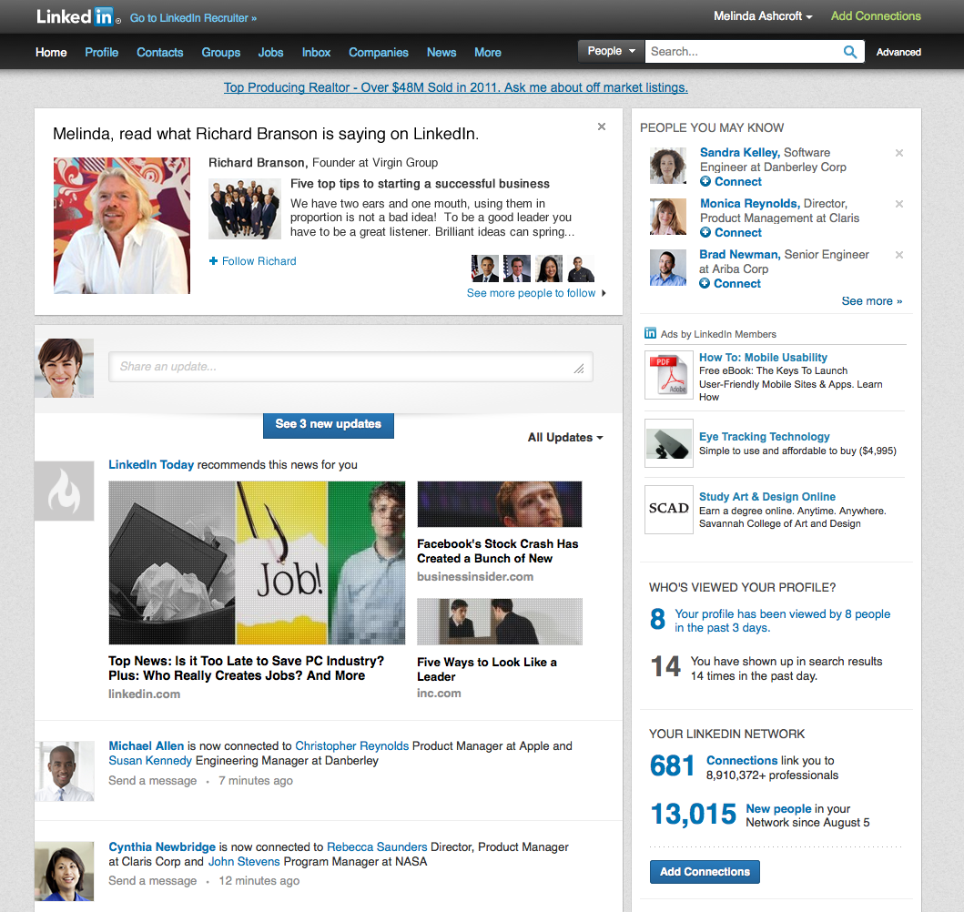 Can You Make Your Linkedin Profile To A Resume