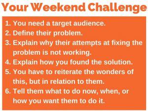 375 weekend challenge 6
