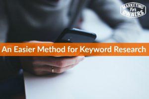 389 easier method keyword research