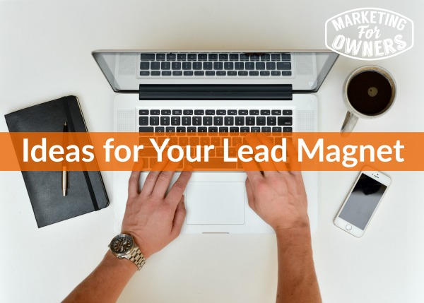 390 ideas for your lead magnet