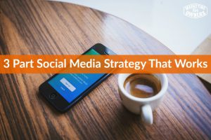3 Part Social Media Strategy That Works