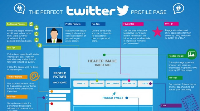 perfect twitter profile page