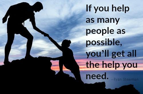 Helping-people