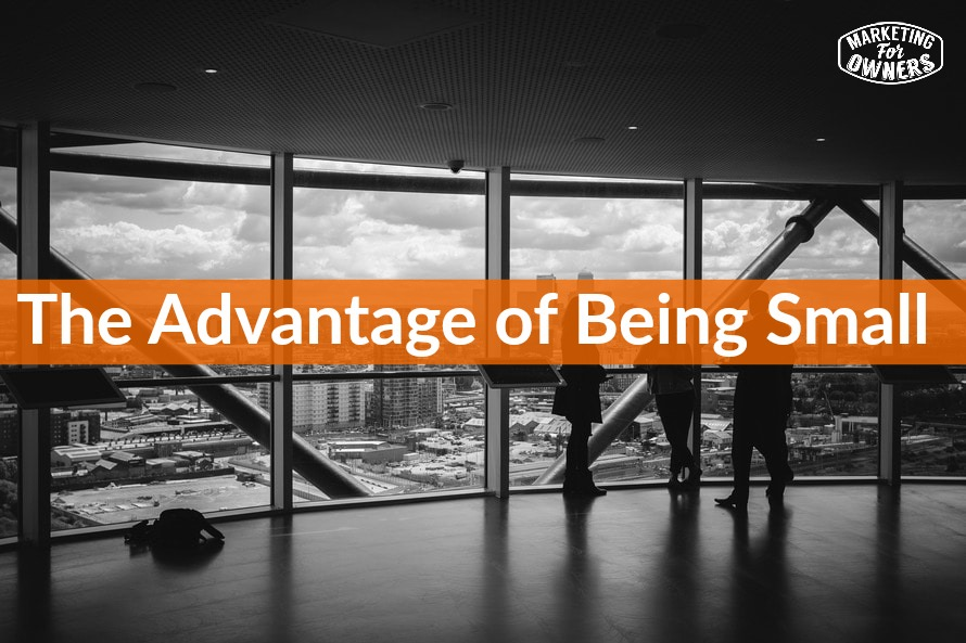 The Advantage of Being Small